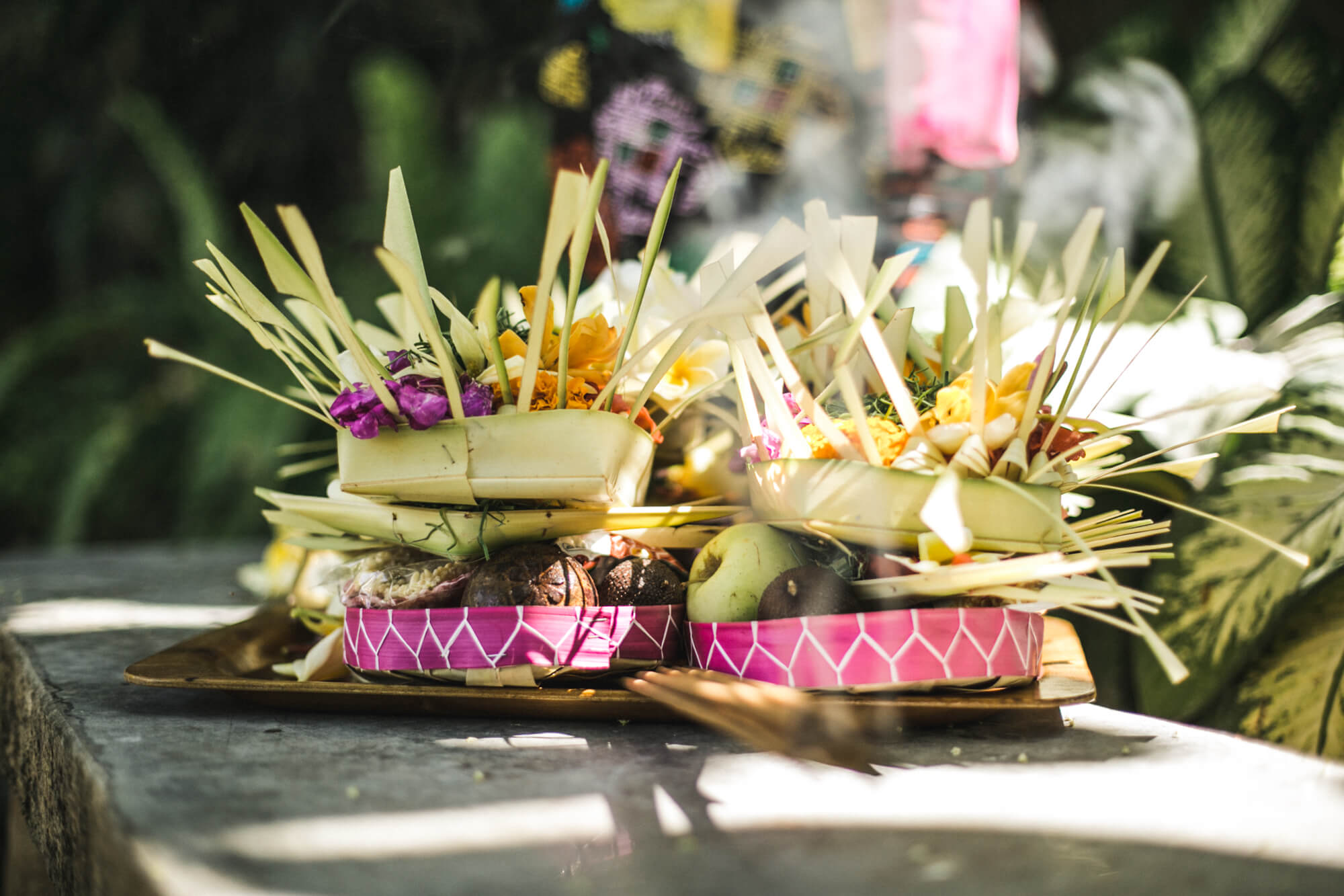 Fruit and Flowers - The Place Retreats Bali